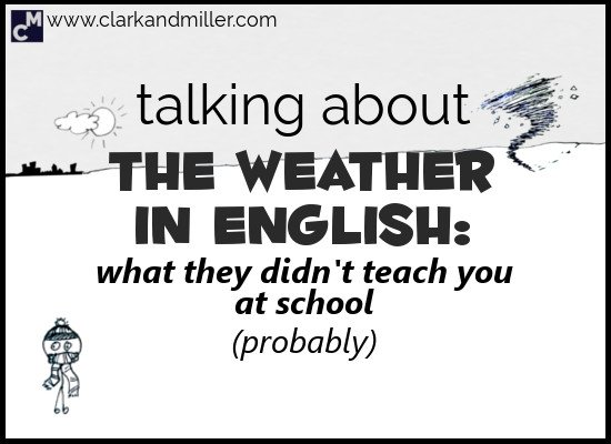 Talking about the Weather in English