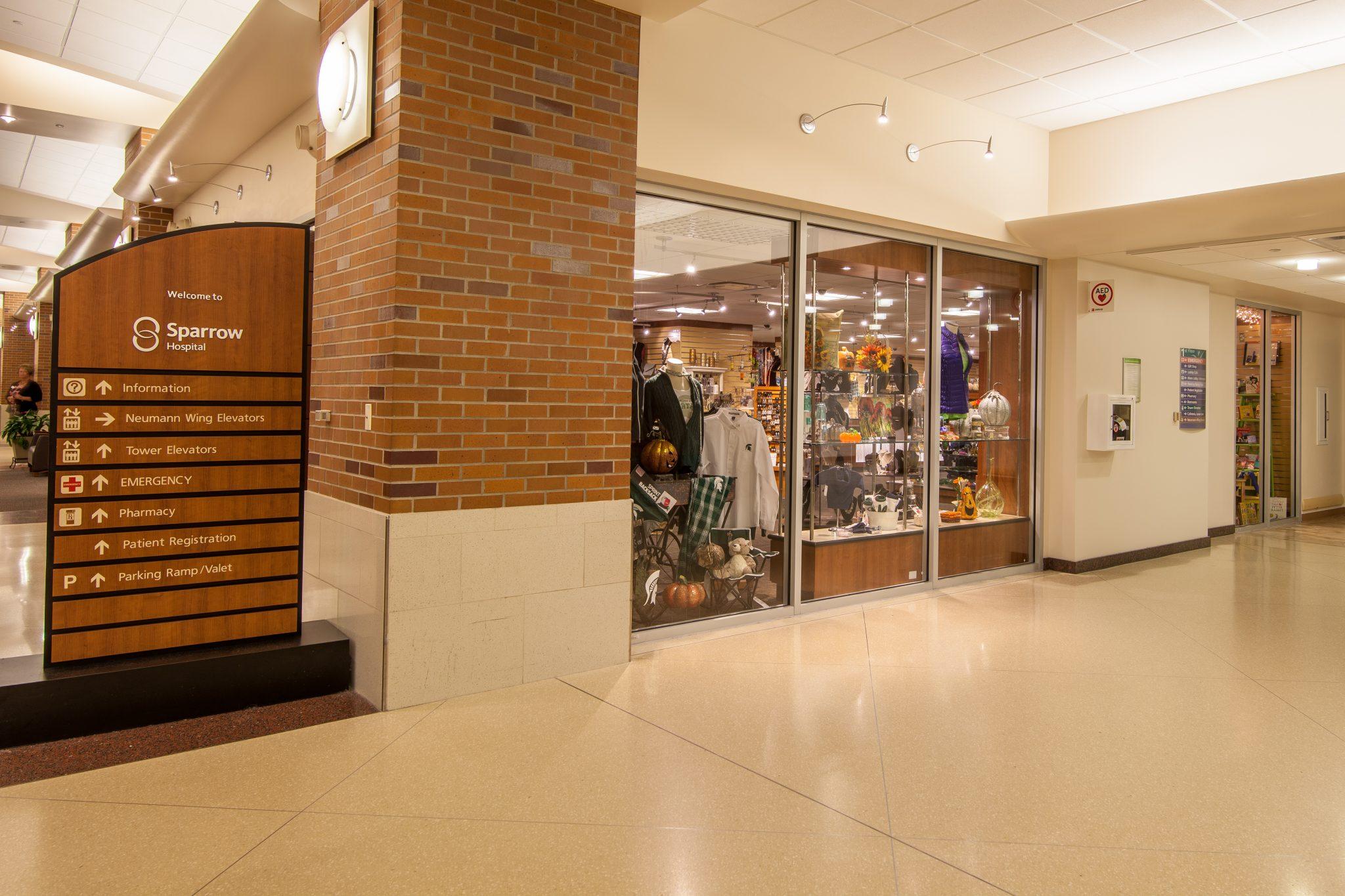 Photos from the Sparrow Hospital Gift Shop  Clark