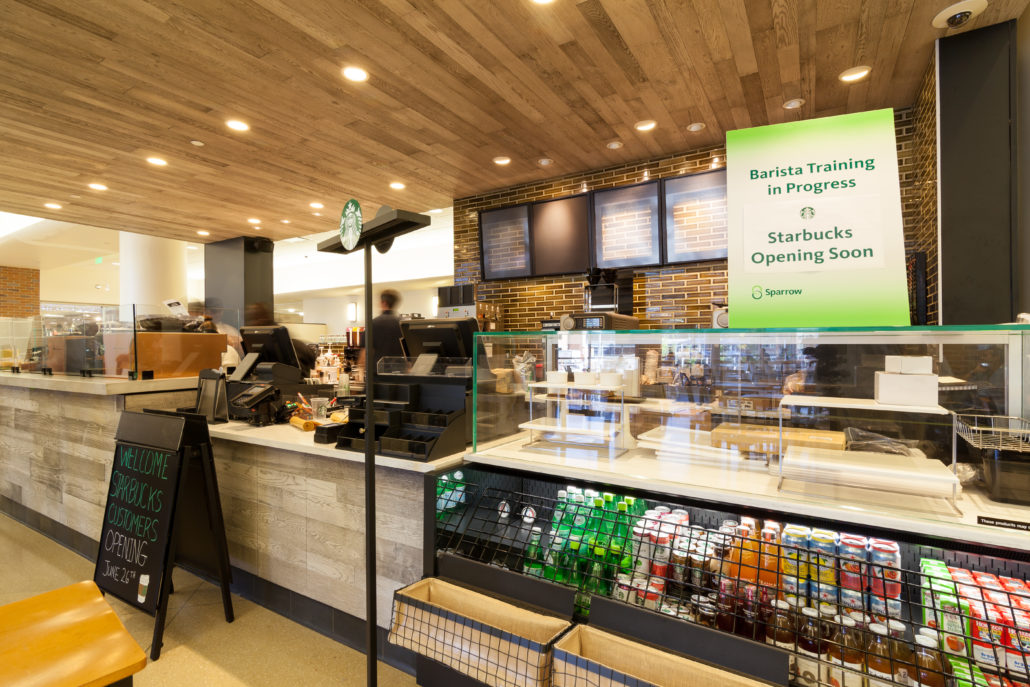 Sparrow Health System Starbucks Cafe To Open Soon  Clark