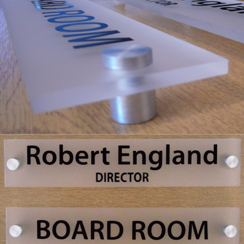 Contemporary Office Door Sign-Plaque