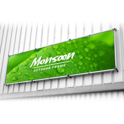 Monsoon Wall Banner Frame