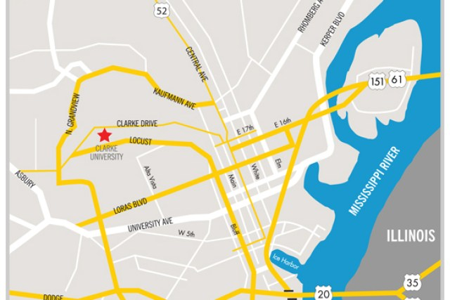 Map Directions Clarke University – Maps and Driving Directions