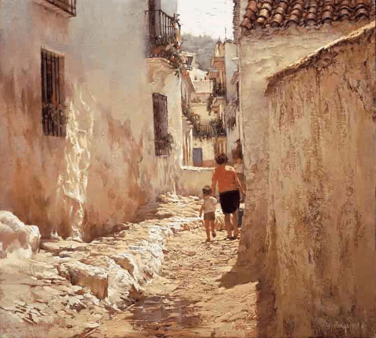 Paintings By Clark Hulings Master Painter