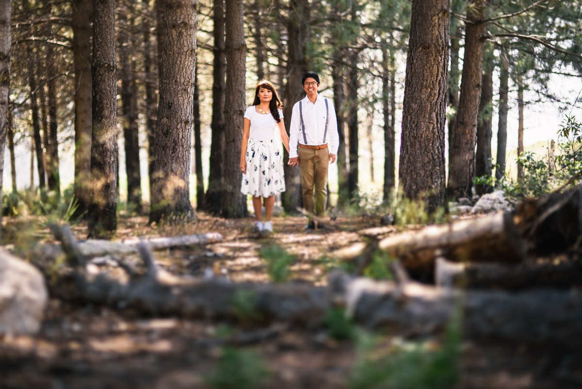 Los Angeles Mountain Engagement Photography Clarkie