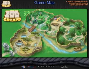 Zoo Escape Game Map (Gamezand)