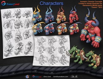 Trezert Character Concepts (Gamezand)