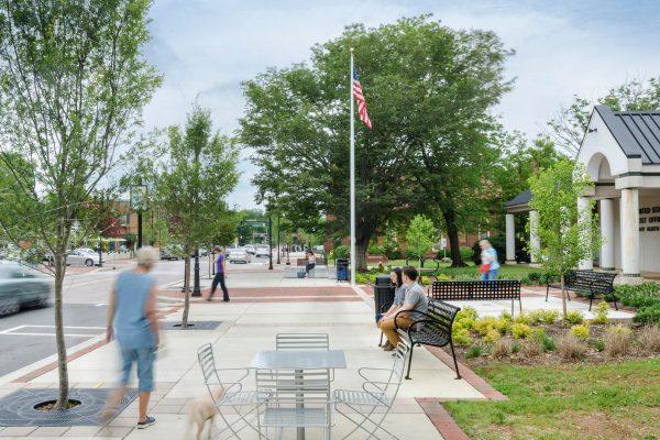 Streetscape Design And Public Art Transform Walk