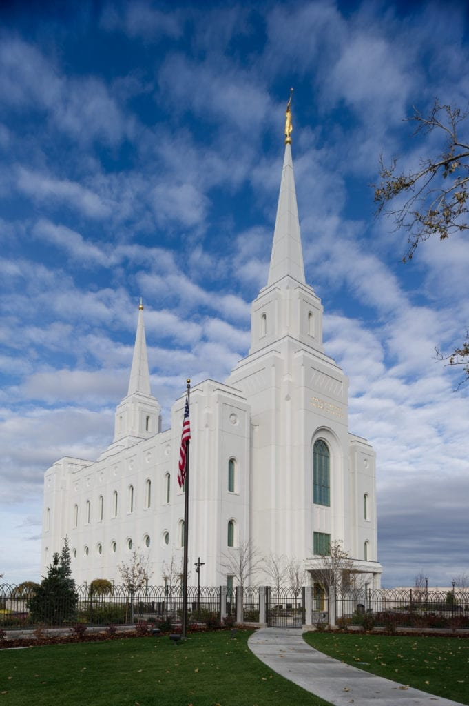 Brigham City Temple  Clark Pacific