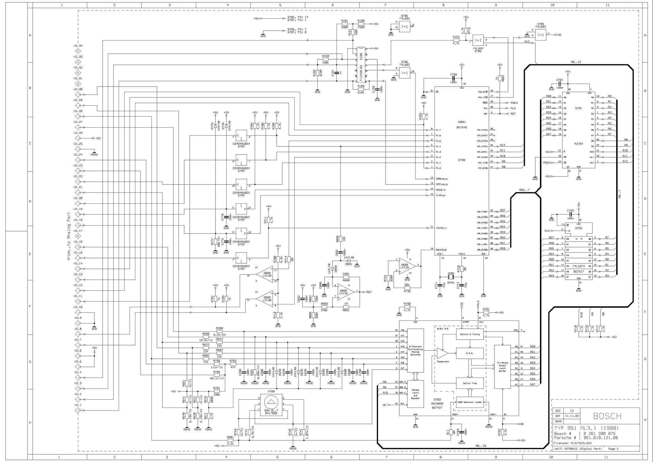 porsche 944 injector wiring