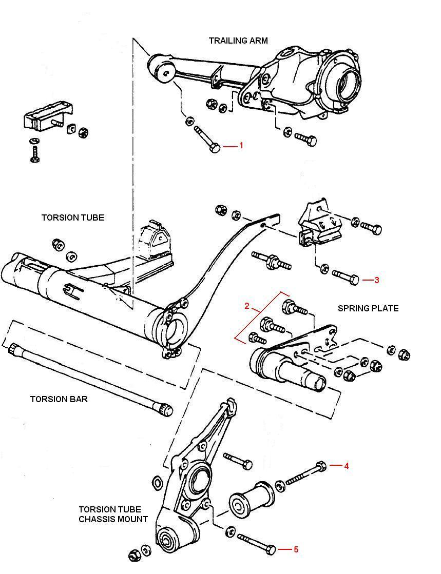 medium resolution of 944 rear suspension