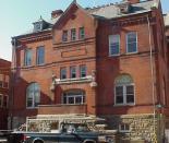 Former Clarksburg Post Office during Lee Vance's time