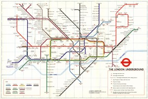 The London Tube Map Archive