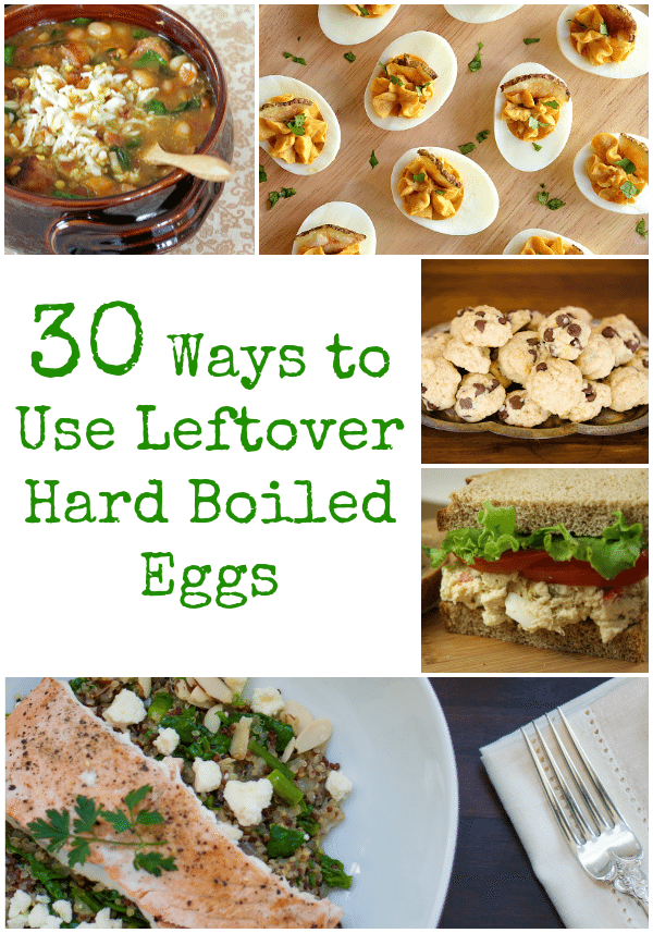 30 Ways to Use Leftover Hard Boiled Eggs  ClarksCondensed.com