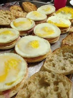 Homemade Egg McMuffins