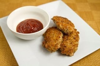 Coconut Oil Chicken Nuggets