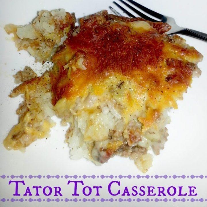 Tator Tot Casserole
