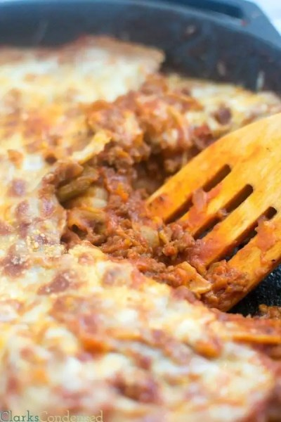 skillet-lasagna
