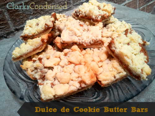 Dulce de Cookie Butter Bars by Clarks Condensed