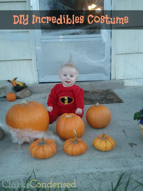 homemade infanct costumes