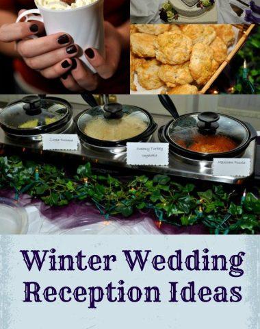 Winter Wedding Reception Ideas by Clarks Condensed