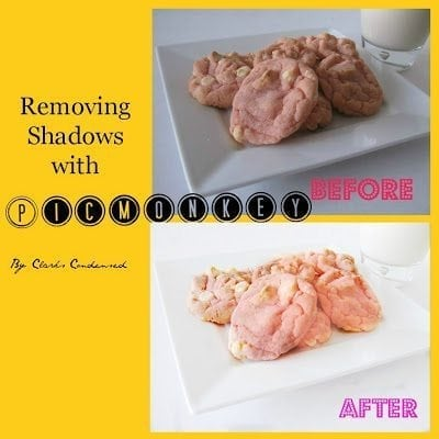 Remove shadows in pictures with PicMonkey