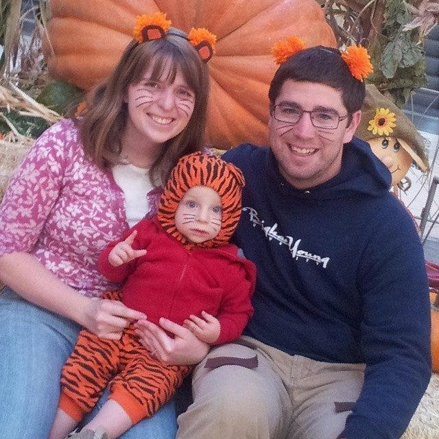 daniel tiger family costumes
