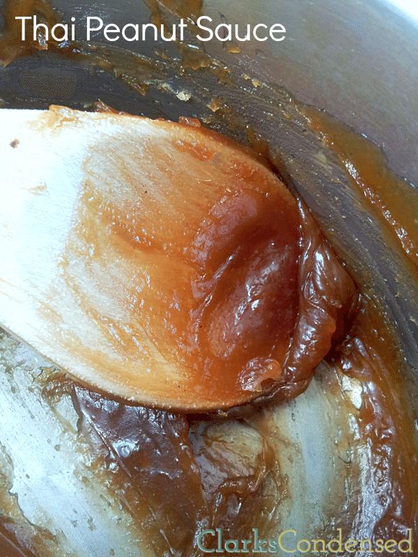 Easy Thai Peanut Sauce Recipe by Clarks Condensed