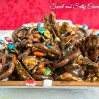 Gooey Chocolate Caramel Gooey Snack Mix