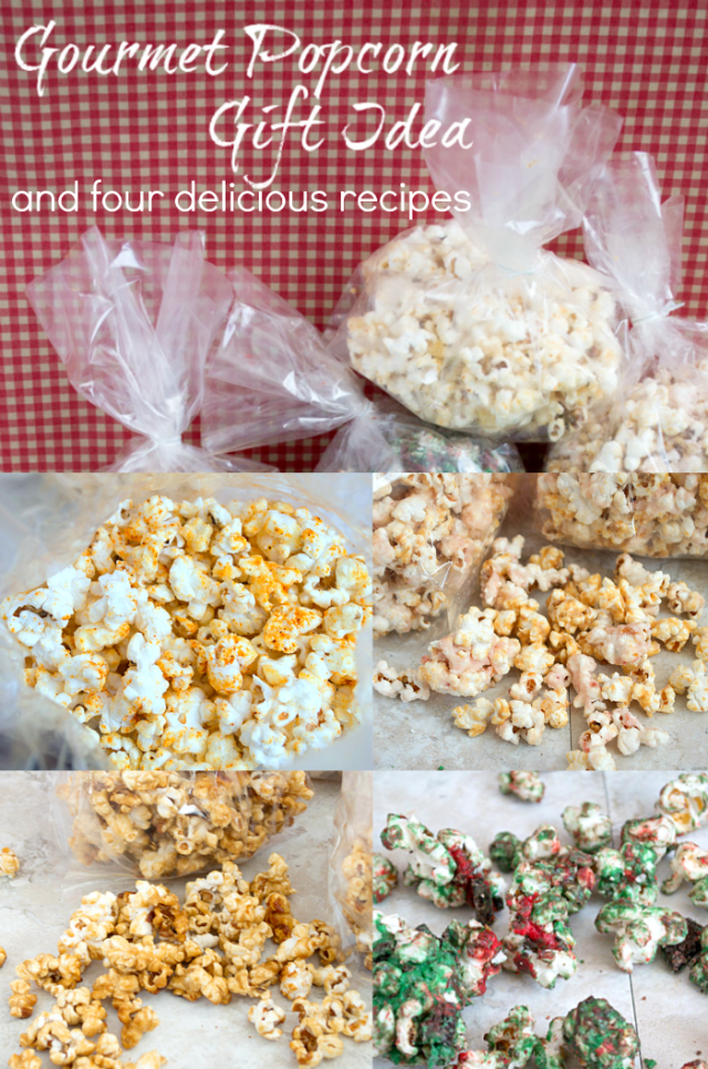 Gourmet Popcorn Recipes and gift idea by Clarks Condensed