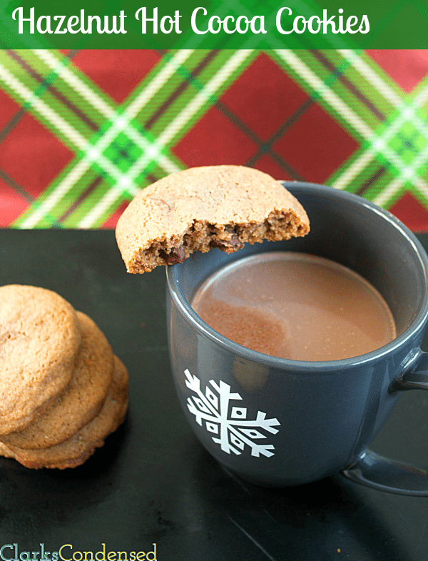 Hazelnut Hot Cocoa cookies by Clarks Condensed