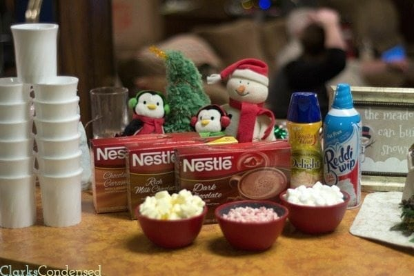 Hot Chocolate Float Bar - perfect for the holidays! #shop #cbias #HolidayReady