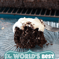 Chocolate Cake and Cream Cheese Frosting Recipe