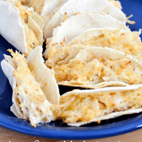 Mini Shredded Chicken Tacos #AppetizerWeek #Savorx