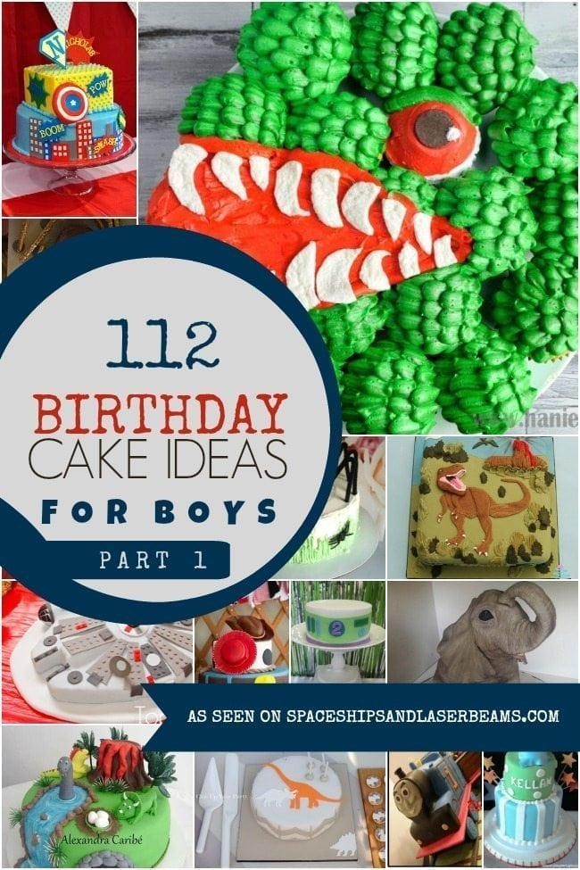 Birthday Cake Ideas For Boys