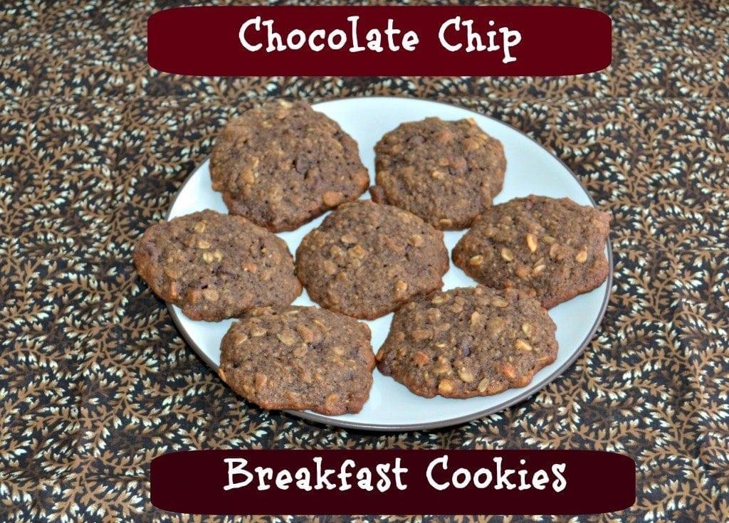 Chocolate chip breakfast cookies