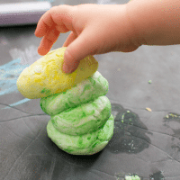 Easy Homemade Playdough