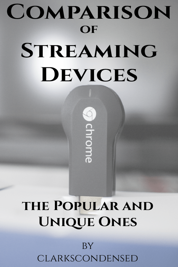 Cutting cable or satellite subscriptions, to save money, for streaming devices is getting more and more common -- here is a comparison of streaming devices on the market to help you decide which one is best for your family.