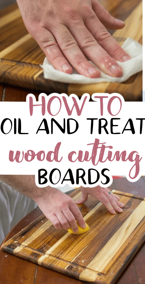 Learn how to treat your wood cutting board so it will retain its life for years to come. Find out how to store, wash, dry, and store a wooden cutting board. via @clarkscondensed