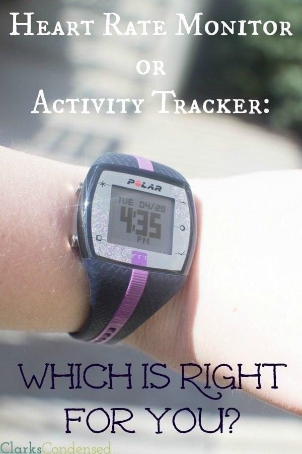 Wearable trackers are all the rage right now — and for good reason. They can completely transform your health and exercise routines. However, is a heart rate monitor or activity the best option for you? Be sure to read this post comparing the two options, as well as read about how my heart rate monitor improved my health and fitness!