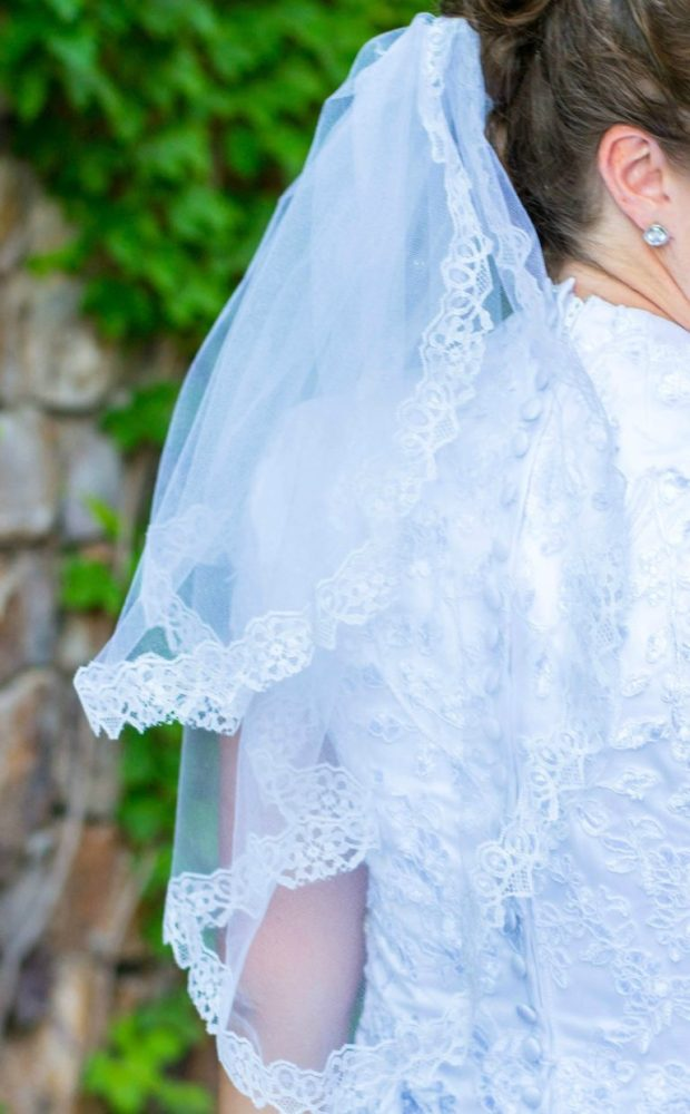 Two Tiered Wedding Veil