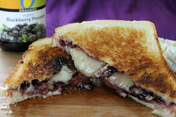 blackberry brie grilled cheese3