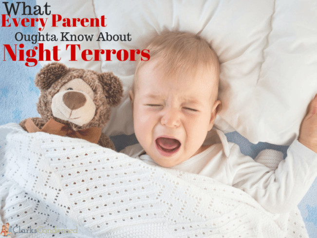 Night terrors are scary for all involved. Here's what every parent oughta know about Night Terrors