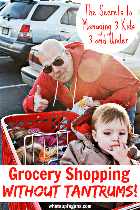 Grocery Shopping with Kids 2