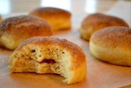Apricot-Plum-Baked-Doughnut
