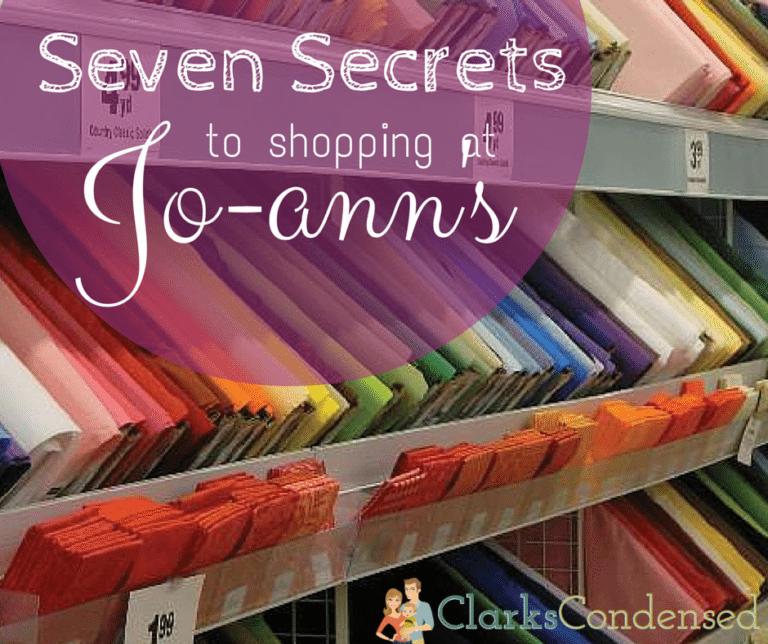 Shopping at Joann's Fabric