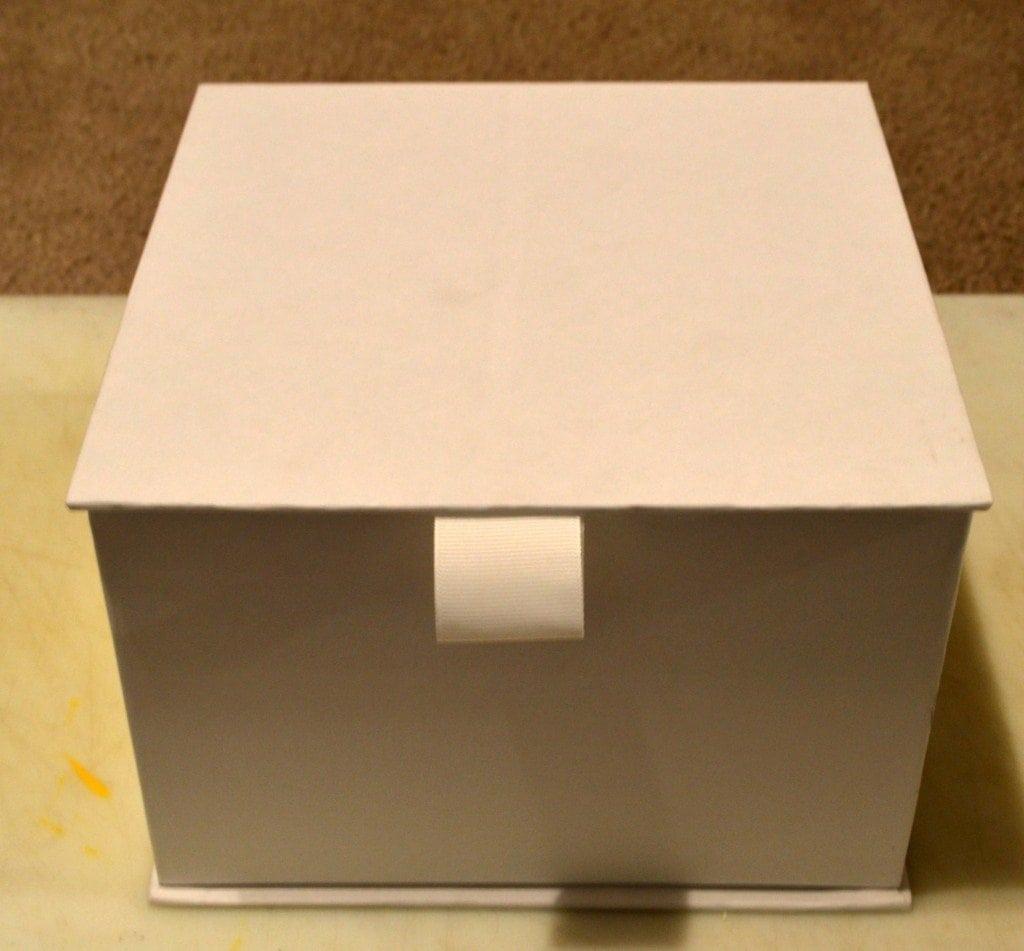 Handmade Card Box