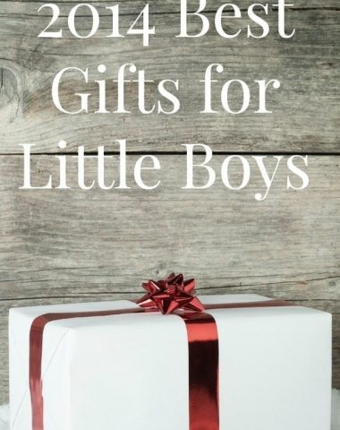 Gifts for little boys udeas