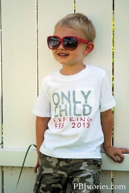 Pregnancy Announcement - Big Brother Shirt DIY