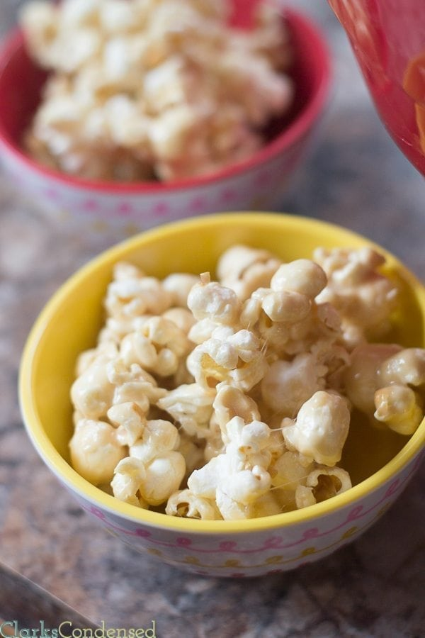 marsmallow salted caramel popcorn recipe