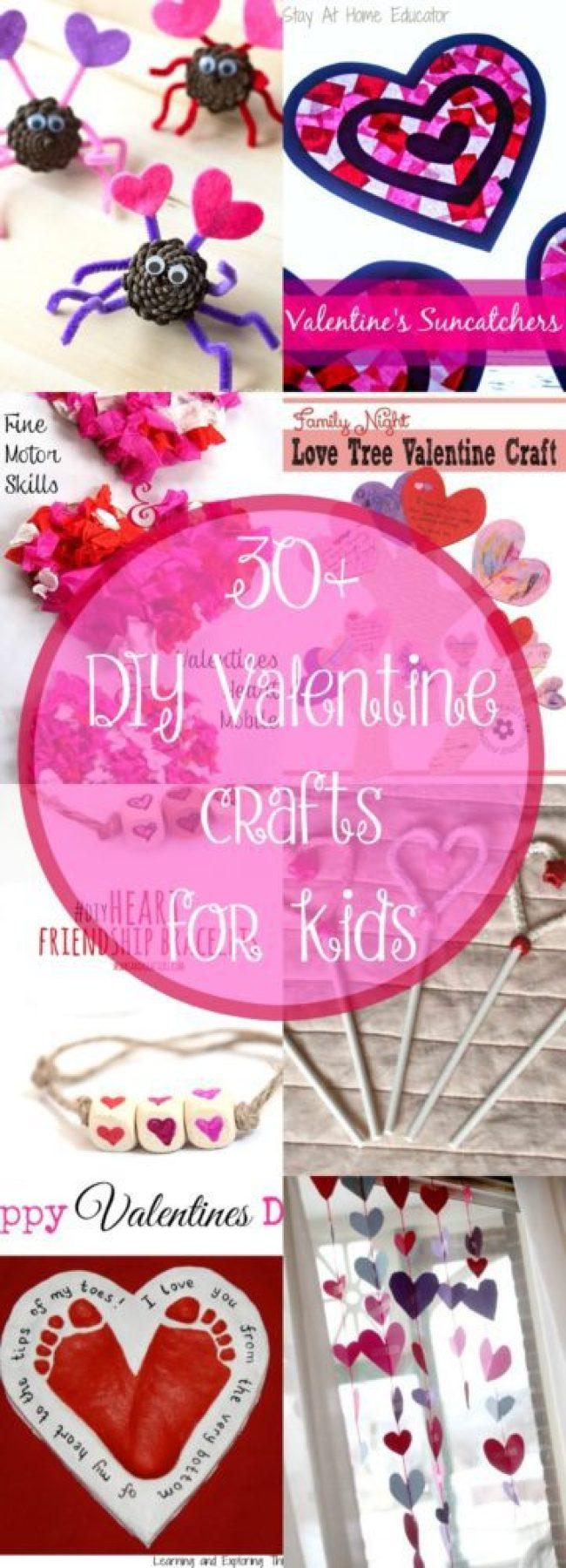 30 Diy Valentine S Day Ideas For Kids